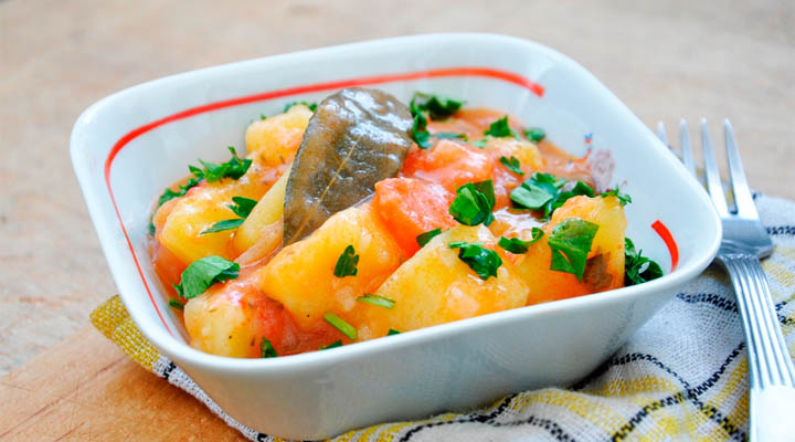 Potato and Carrot Stew