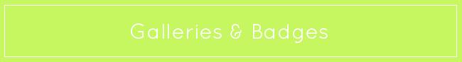 galleries badges gourmandelle button