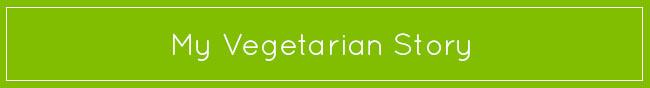 my vegetarian story gourmandelle button
