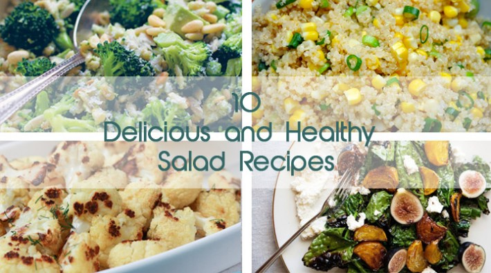 10 Delicious and Healthy Veggie Salads