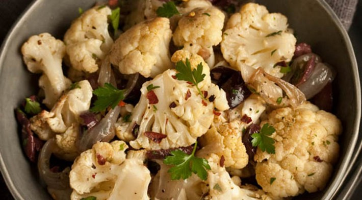 Cauliflower Salad With Green Olives And Capers Recipes — Dishmaps