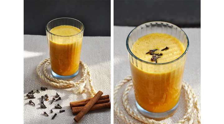 Super Antioxidant Pumpkin Smoothie Great on ORAC Scale