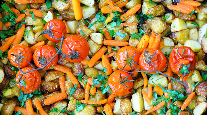 Spring Roasted Veggies