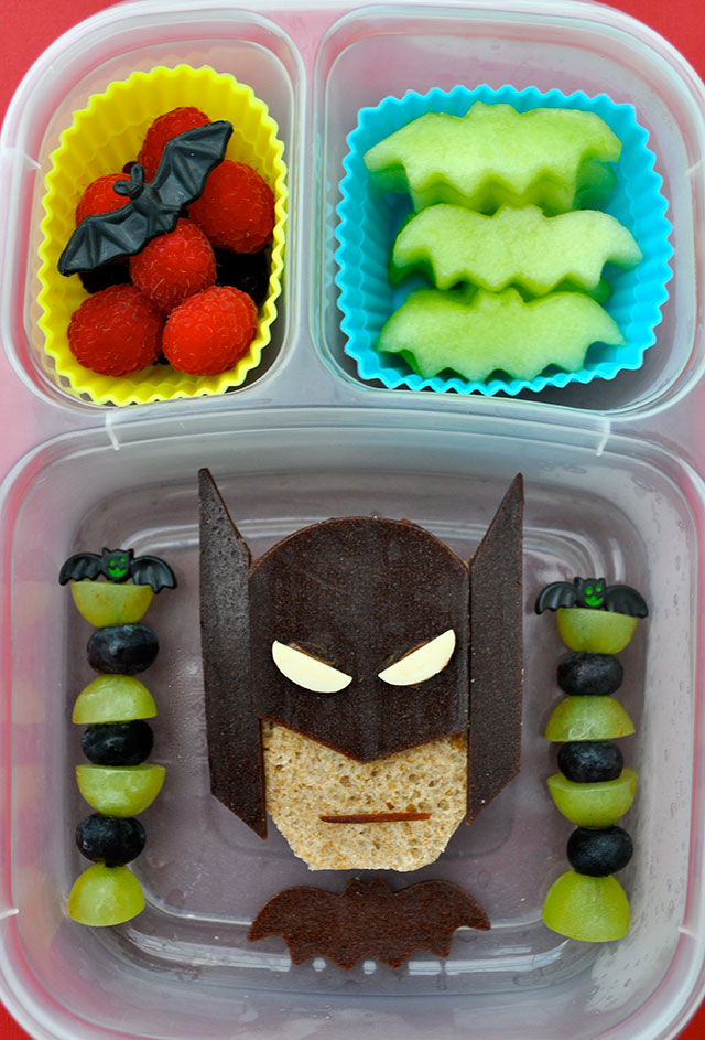 fun foods for kids batman fruits