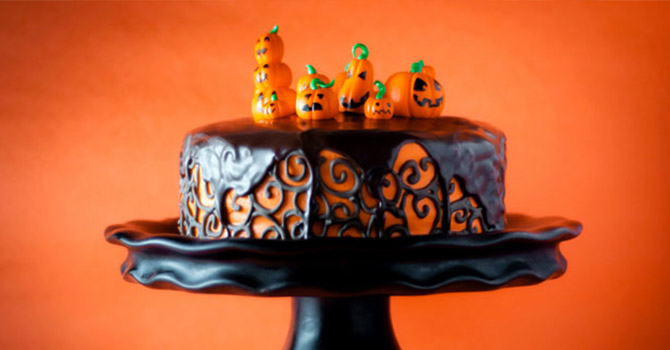 Halloween Desserts Recipes Chocolate Orange Layer Cake