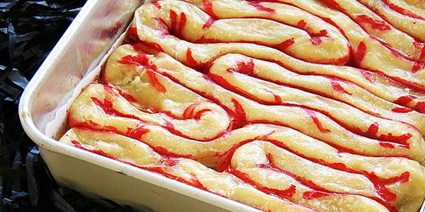 Halloween Puff Pastry Intestines