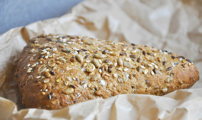 Whole Wheat Bread Seeds
