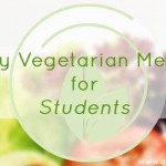 Weekly Vegetarian Meal Plan for Students No.1 – FREE Printable