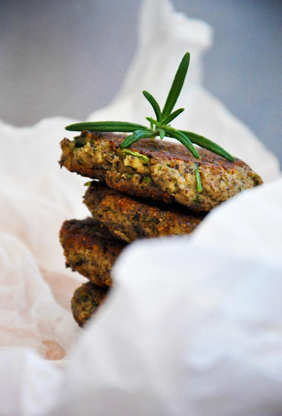 Protein-Rich Mushroom Hemp Patties with Herbs recipe