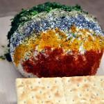 Aperitiv cu urda verdeturi si condimente Ricotta Cheese Ball with Spices and Herbs