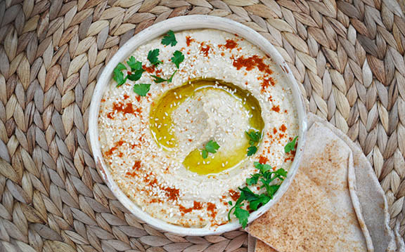 Hummus simplu gata in doar 5 minute! Best 5-Minute Hummus Recipe vegetarian