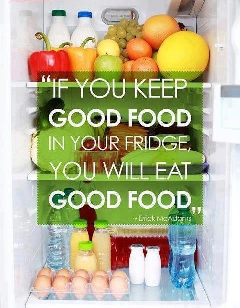 keep good food fridge eat good food