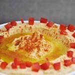 Roasted Red Bell Pepper Hummus vegan recipe