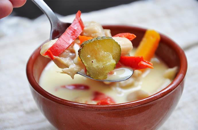 Vegan Hangover Soup  Pleurotus Mushroom Soup Ciorba de burta vegana reteta