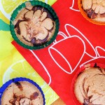Gluten-Free Muffins with Banana Chocolate Cream Filling Briose fara gluten cu crema de ciocolata si banane