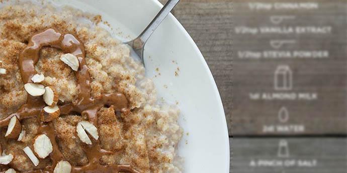 MILLET PORRIDGE macrobiotic breakfast recipes