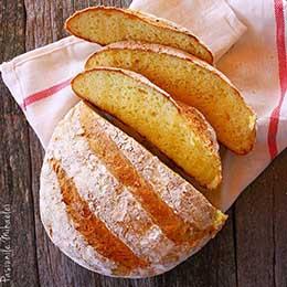 Paine taraneasca cu cartofi fara gluten