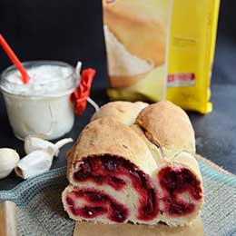 paine cu sfecla fara gluten
