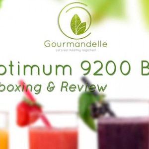 Optimum Blender 9200 Review Unboxing