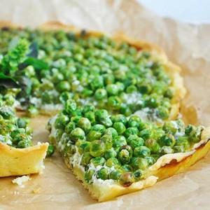 gluten-free-vegan-green-pea-tart-mint-tarta-fara-gluten-cu-mazare-menta