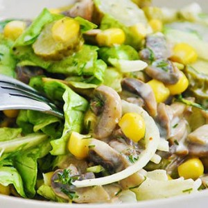 Best mushroom salad recipe salata de ciuperci