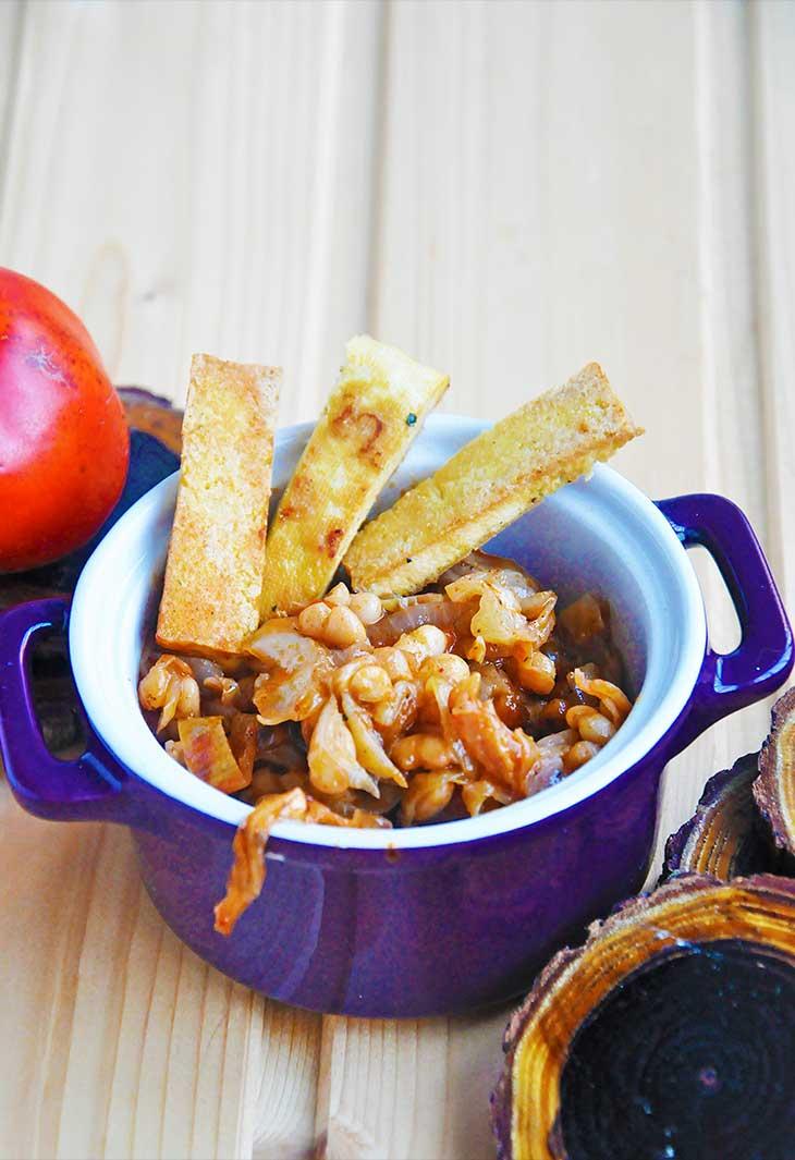 cabbage stew-Mancare-de-varza-cu-fasole-si-afumatura-vegana