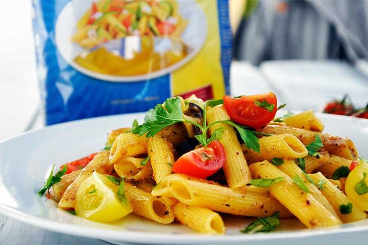 vegan eggplant pasta-creamy-gluten-free-Paste-fara-gluten-cu-vinete