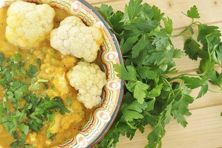 Cauliflower-sweet potato stew-Mancare-de-conopida-si-cartof-dulce-reteta