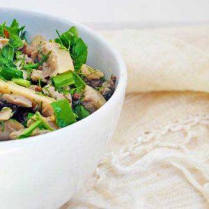 Pickled-Oyster-mushroom-salad-salata-cu-ciuperci-pleurotus-reteta
