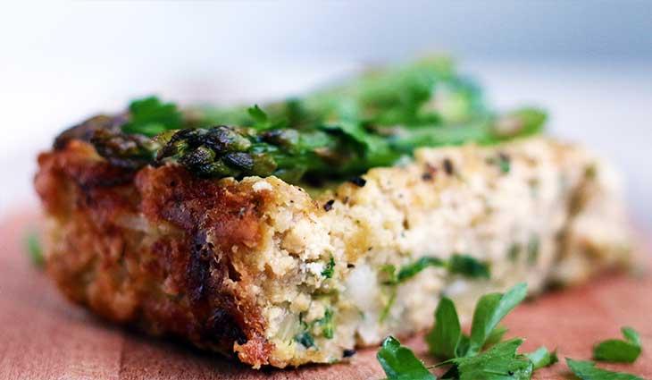 Vegan Crustless Asparagus Quiche fara-crusta-cu-asparagus-(2)