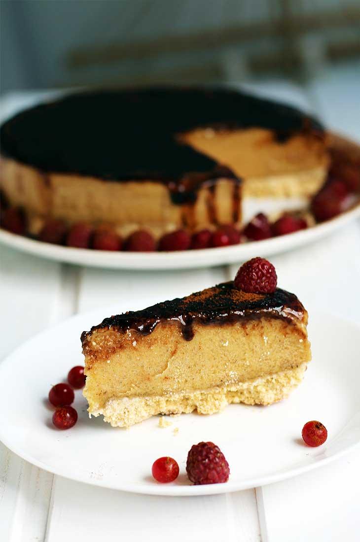 4-No-Bake-peanut butter cake-Vegan-Recipe-Tort-cu-Unt-de-Arahide