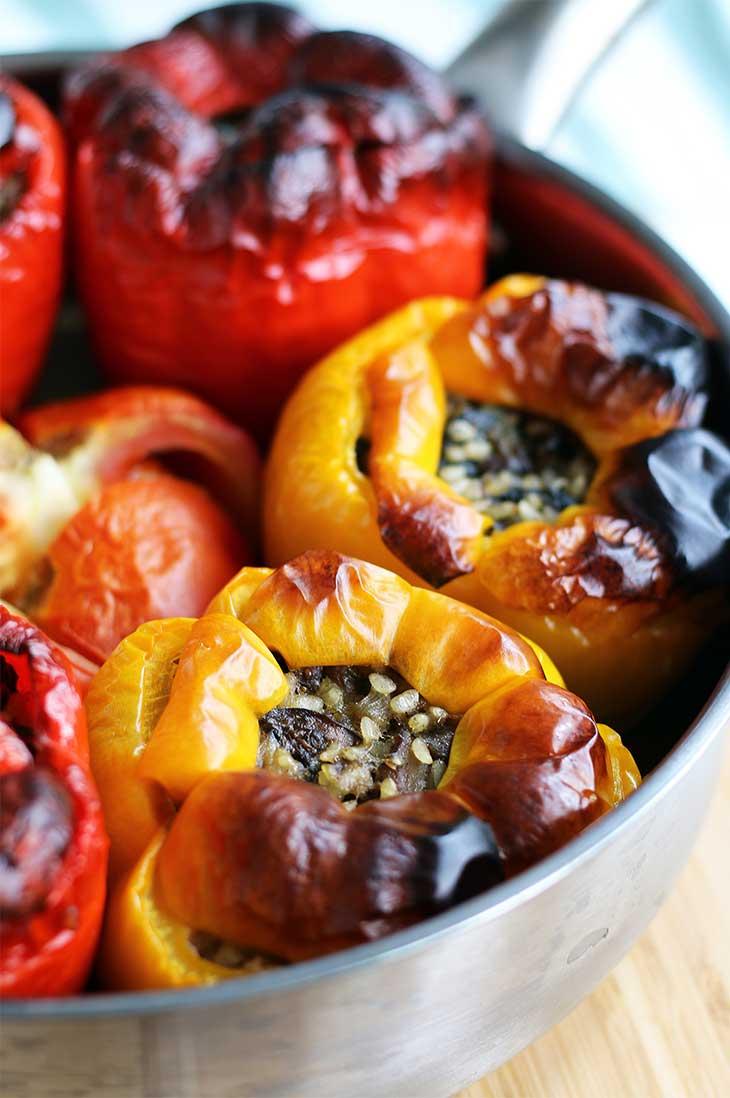 stuffed peppers-ardei-umpluti-vegetarian
