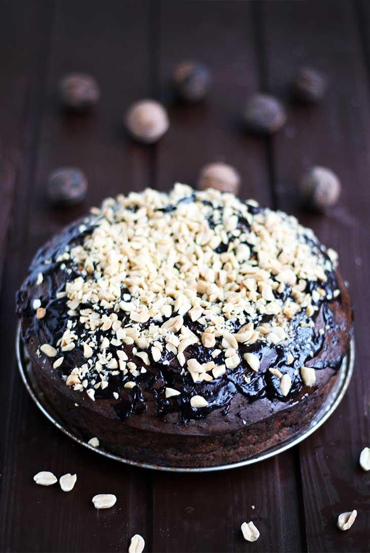 vegan chocolate cake-tort-vegan-cu-ciocolata-reteta