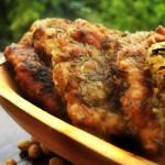 Herb Crusted Soy Schintzels | snitele de soia