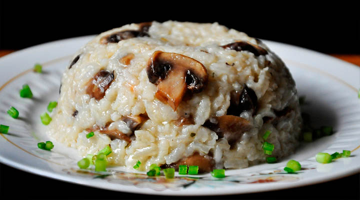 Brown Rice Mushroom Pilaf vegan dinner recipes