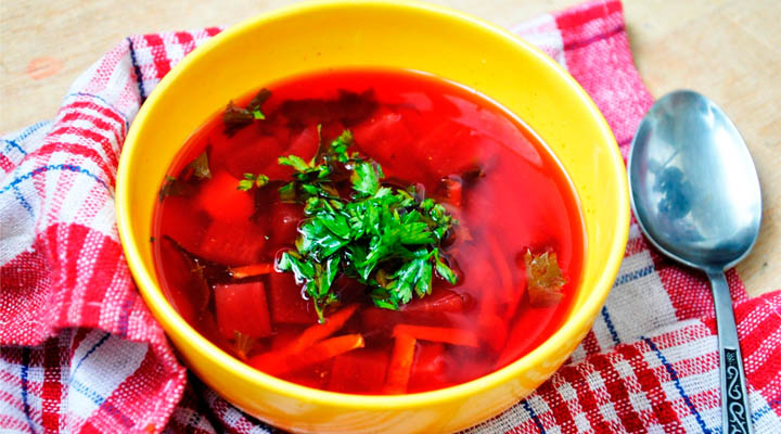 Vegan Beetroot Borscht