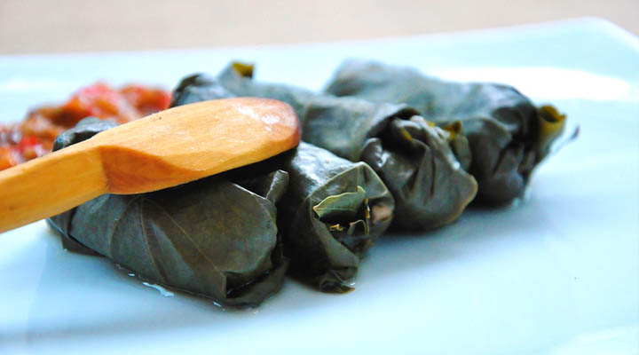 Vegetarian Mushroom Dolmas