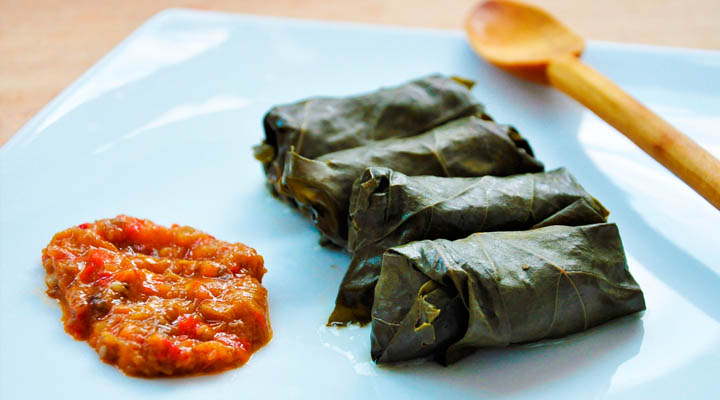 Vegan Christmas Dinner Recipes dolmas