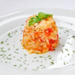 Vegetarian Serbian Rice Pilaf