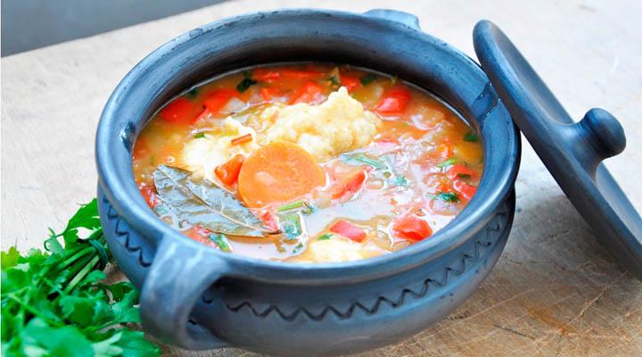 vegetarian paprikash Vegetable Stew with Dumplings