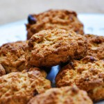 Healthy Whole Grain Cookies with Nuvia Cafe | Biscuiti integrali