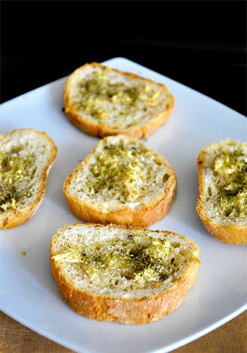 Thyme Garlic Baguette