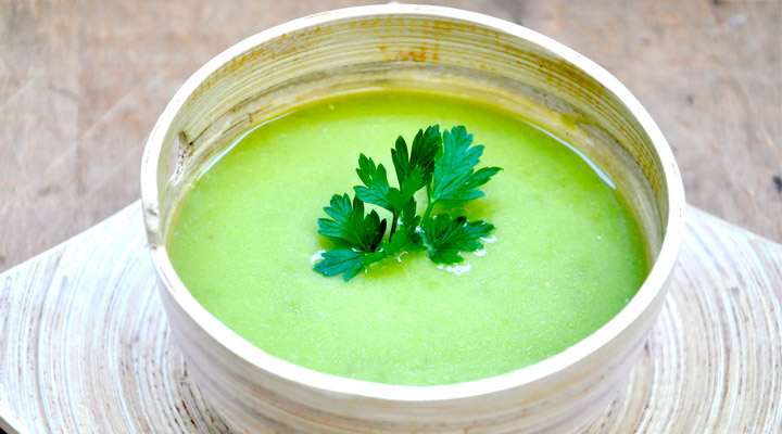 Creamy Pea Soup Recipe