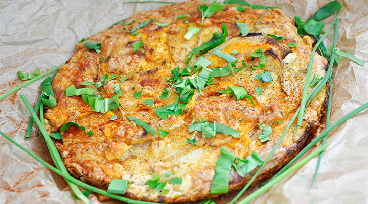 potato and cheese tart recipe