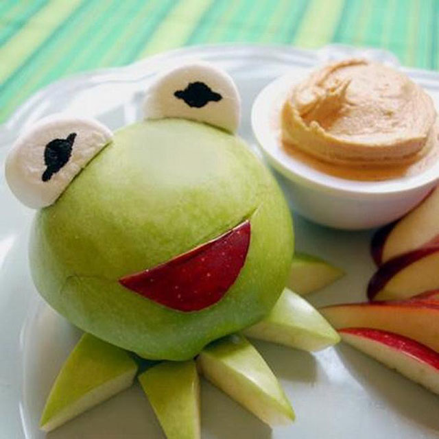 kermit frog apple