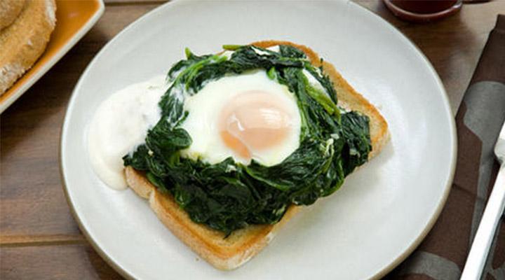 Eggs Florentinesque