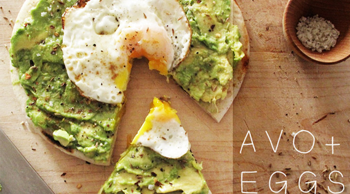 Healthy Egg Recipes for Breakfast Avocado and Egg Breakfast Pizza