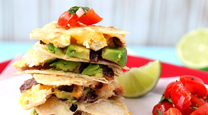 Healthy Egg Recipes for Breakfast - Breakfast Quesadillas