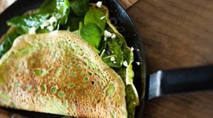 Healthy Egg Recipes for Breakfast - Thin Omelet