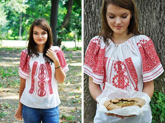 Ruxandra Micu Gourmandelle mushroom galette recipe